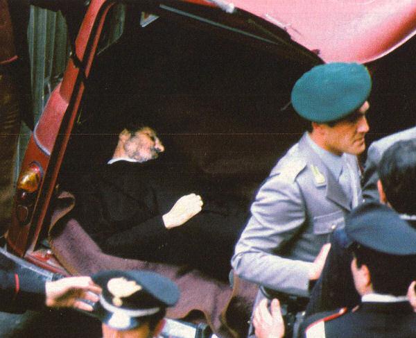 Aldo Moro ucciso dalle Brigate Rosse