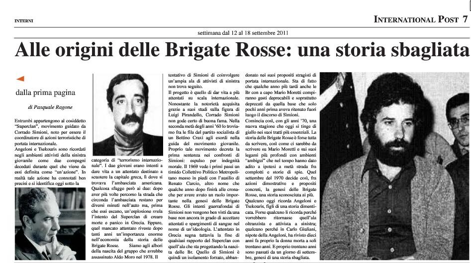 Curcio Moretti Faranda Cagoll
