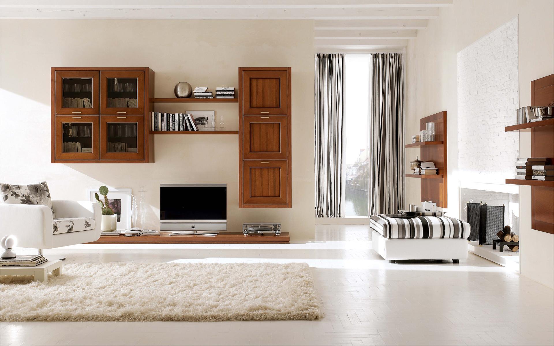 Soggiorno mobili ciliegio ~ mattsole.com