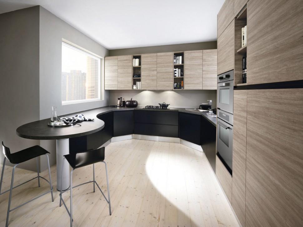collezione cucine moderne linea nero