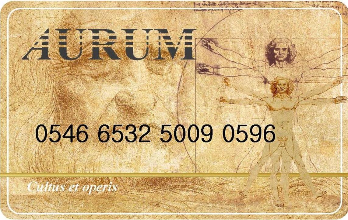 carta AURUM aggiuntive