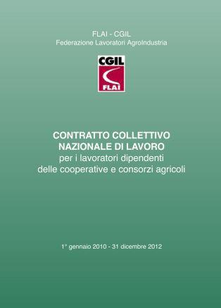 CCNL Cooperazione Agricola