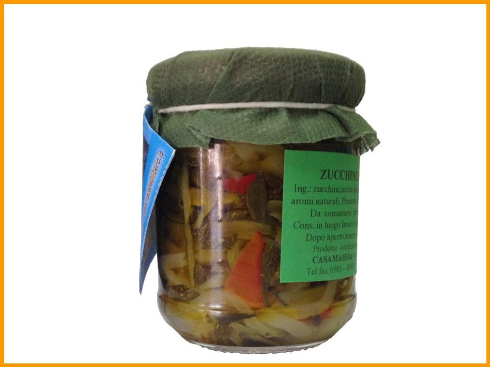 Zucchine a filetto