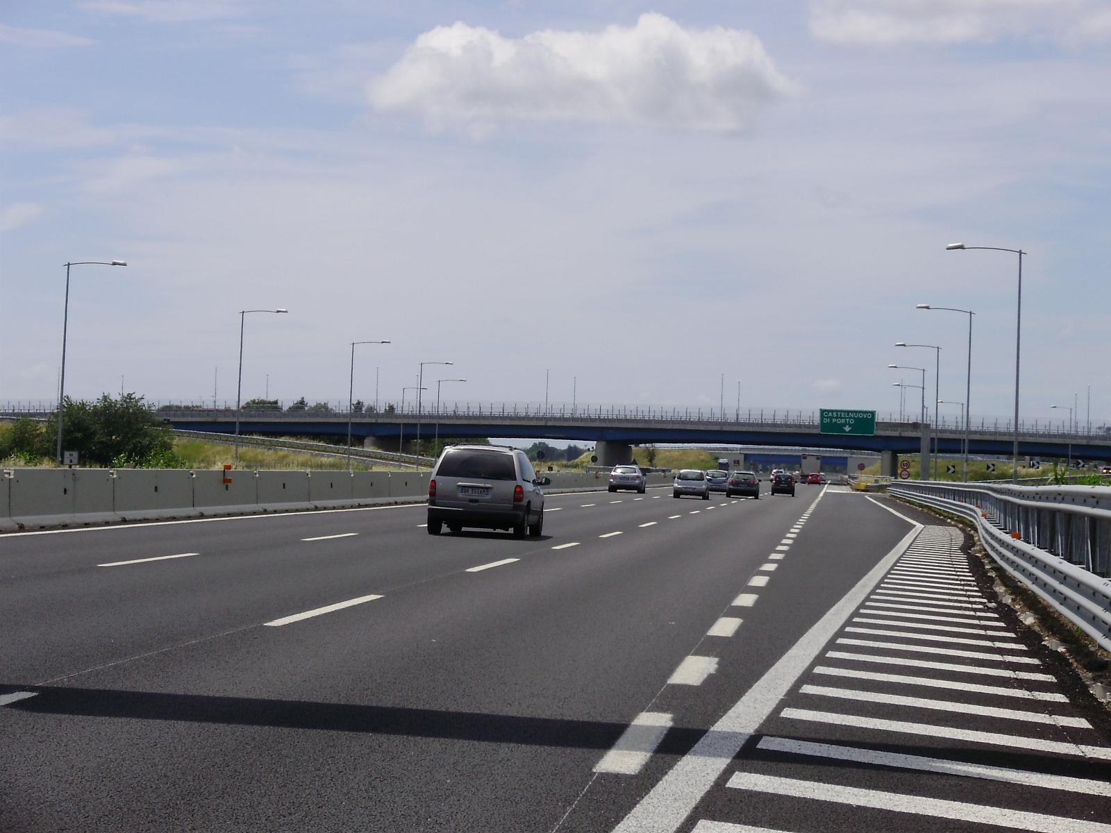 BRETELLA SALARIA SUD - Viadotto di scavalco A1