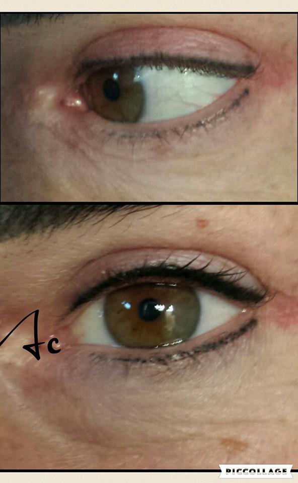 eye liner sfumato occhi