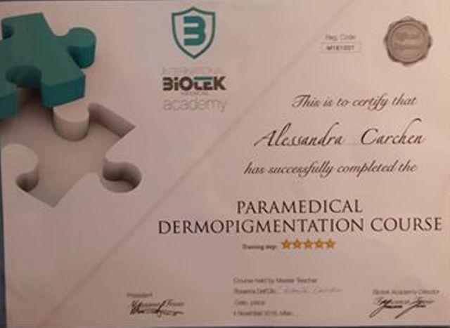 Dermopigmentazione Paramedicale areola mammaria post intervento chirurgico cicatrici smagliature vitiligine macchie della pelle