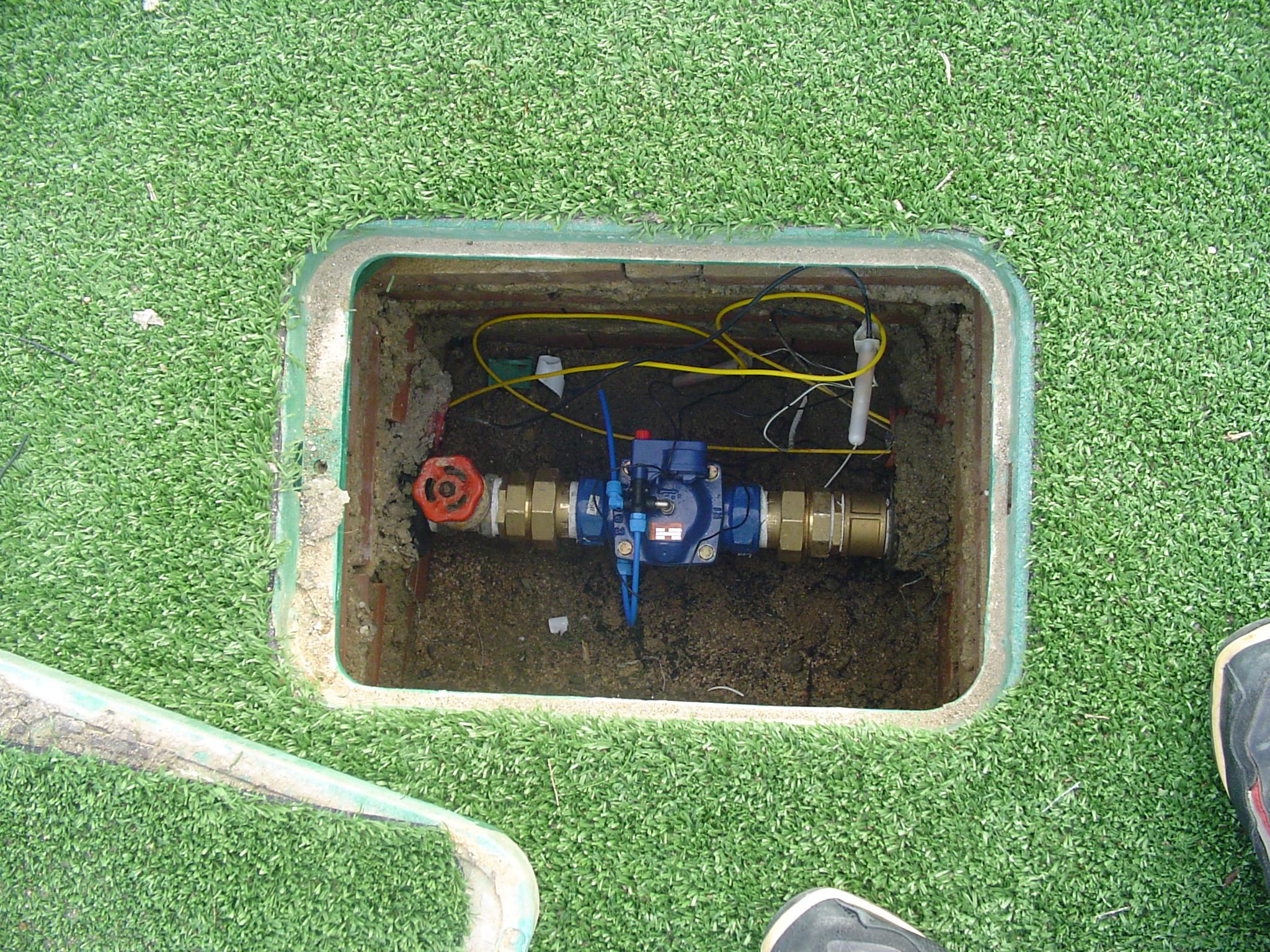 Impianto idrico per giardino termosifoni in ghisa scheda - Impianto d irrigazione interrato ...