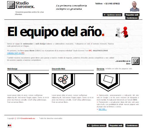 Empresa Studio Euromex año 2014.