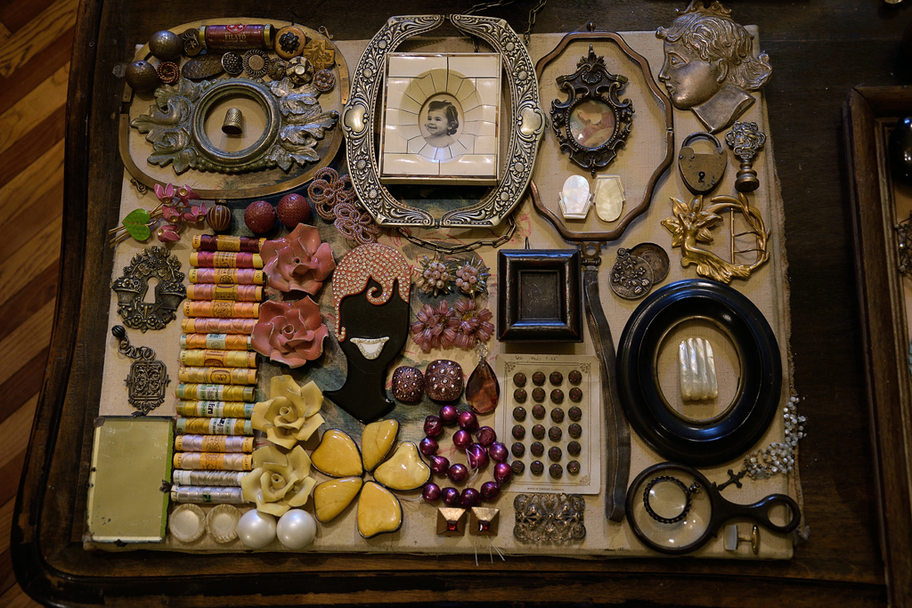 paola bellinzoni, accessori vintage