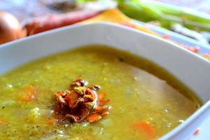 zuppa lenticchie curcuma particolare macro