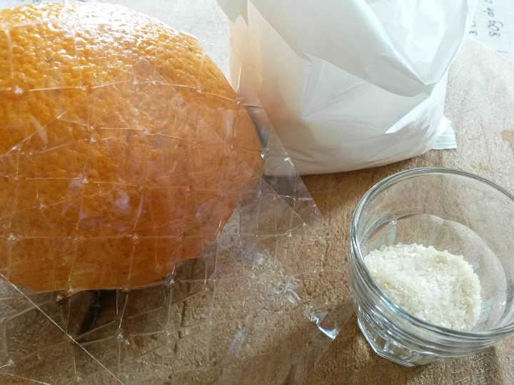 arancia arance gelatina agar collagene colla di pesce zucchero budino arancia