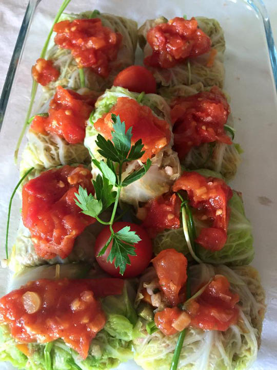 fagottini involtini salutariani vegani vegetariani salutari bene buoni gustoso ricetta salutare