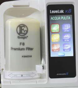 filtro kangen enagic cloro alto grado carboni attivi k8
