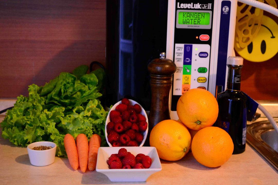 kangen acqua junior 2 vivere salutariani leveluk alcalina ionizzatore alcalinizzatore filtro lamponi semi canapa carote arancia