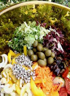 insalata bella fresca salutare estiva estate ricetta