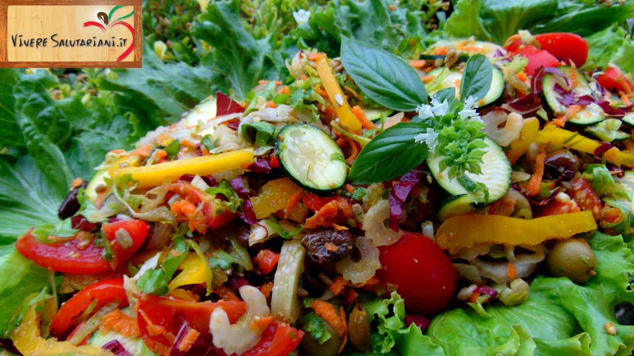 insalata ortolano verdure vivere salutariani ricetta ricette ufficiali