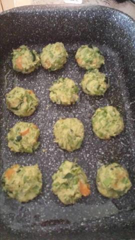 polpette vegetariane forno teglia