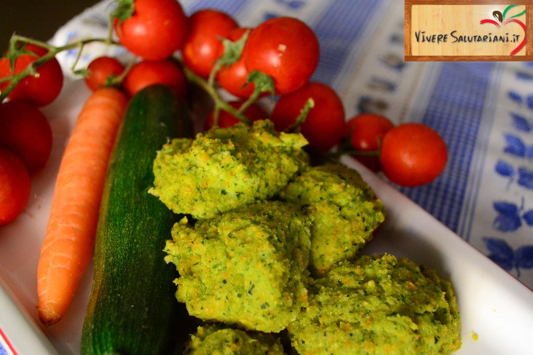 polpette vegetariane piatto salutariano ricetta ricette salutariane