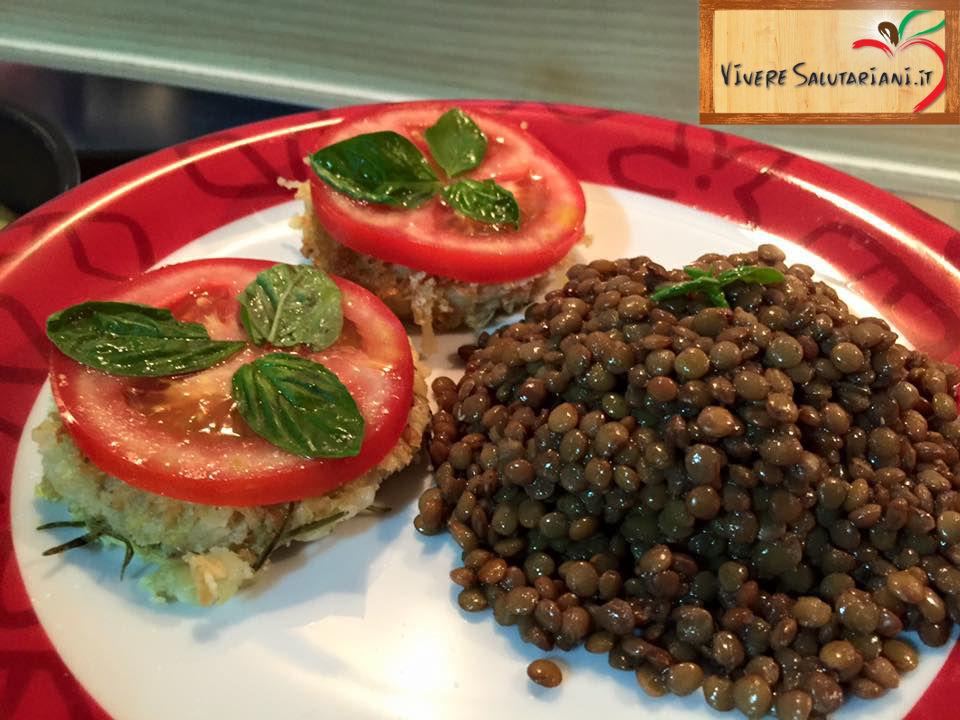 rosti rostì patate farina ceci lenticchie legumi ricetta salutariana buona rosmarino forno