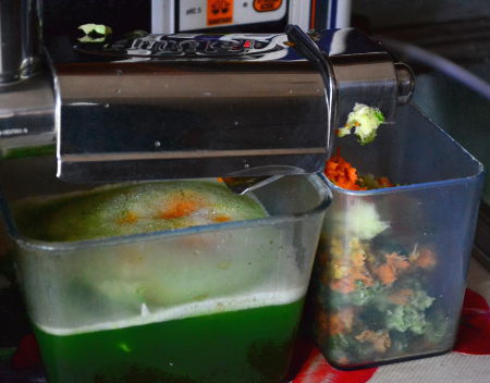 angel estrattore succo verde estratto