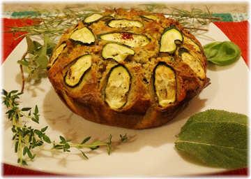 tortino torta ceci farina erbette aromatiche rosmarino salvia timo alloro origano