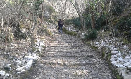 Sentiero delle Laste Rosse