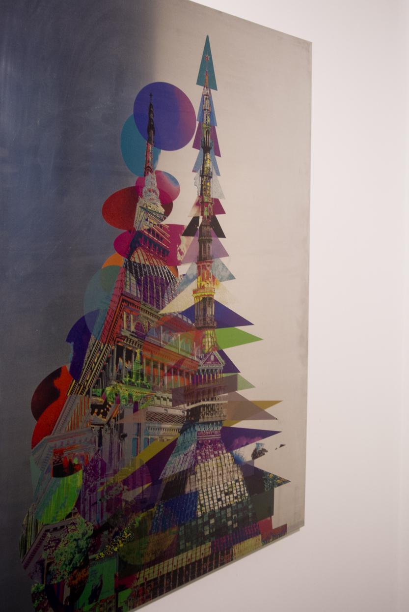 federico comelli ferrari, art, mole antonelliana, steel, aluminium, art photo