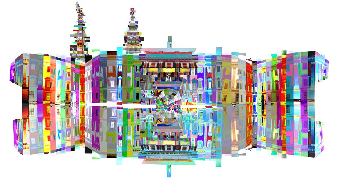 MILANO PALAZZO REALE FEDERICO COMELLI FERRARI ROYAL PALACE MILAN ART