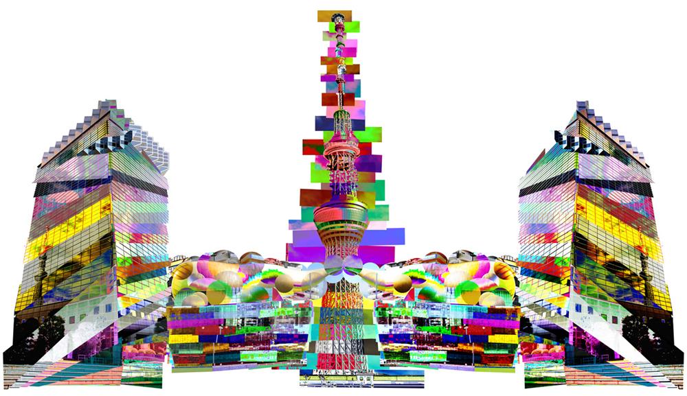federico comelli ferrari tokyo art skyline