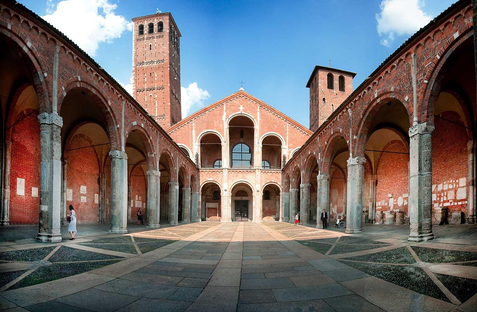 basilica di sant'Ambrogio milano