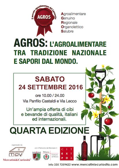 mercatino agroalimentare agros terza edizione milano porta venezia