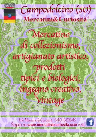 in occasione del ferragosto tradizionale mercatino di artigianato collezionismo creatività prodotti tipici prodotti biologico a campodolcino nel parcheggio dello sky express