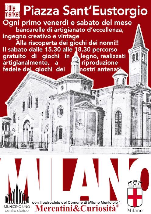 mercatino piazza sant' eustorgio milano