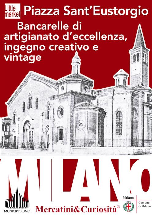 Mercatini curiosit home for Piazza sant eustorgio