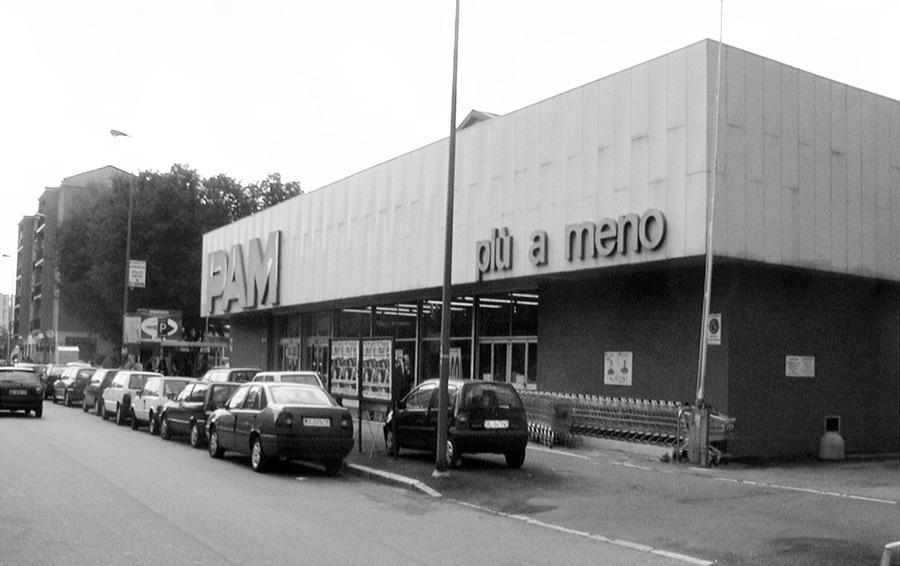 Supermercato Via Inganni, - Milano
