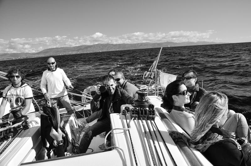 Edizione 2012-Uscita in barca a vela