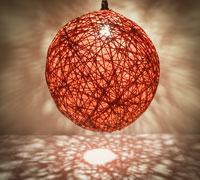lampada sfera di colore
