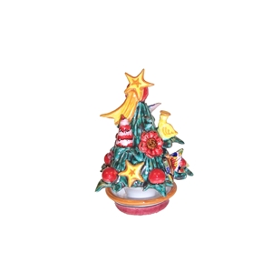 Ceramic Christmas tree handmade 1st r