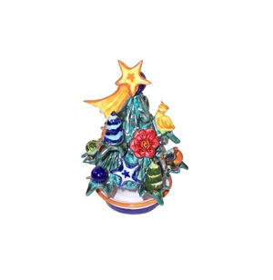 Ceramic Christmas tree handmade 1st m