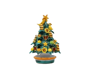 Ceramic Christmas tree handmade 3rd g