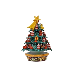 Ceramic Christmas tree handmade 4th r