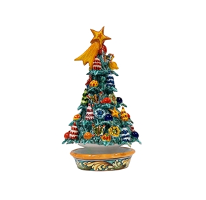 Ceramic Christmas tree handmade 5th m