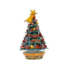 Ceramic Christmas tree handmade 5th r