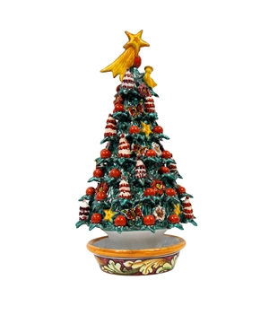 Ceramic Christmas tree handmade 6th r
