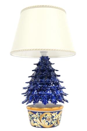 Lume ad'albero blu cobalto 3