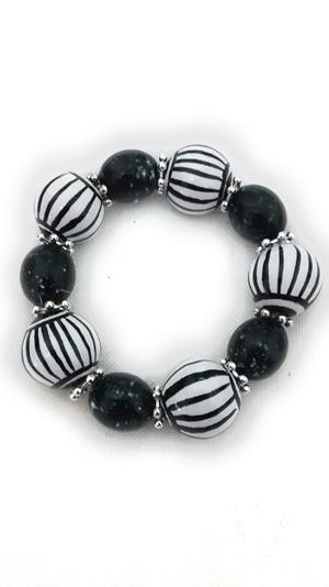 Ceramic bracelet black