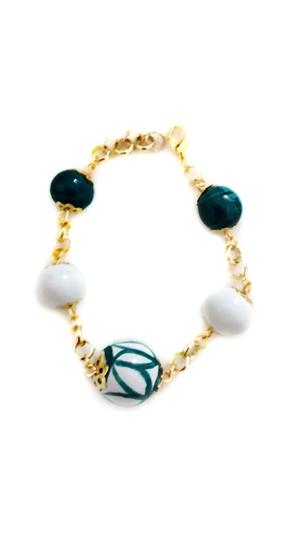 Ceramic bracelet white