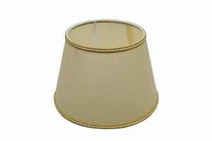 parchment lampshade yellow