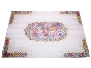 Tavolo in pietra lavica ceramizzata floreale 4