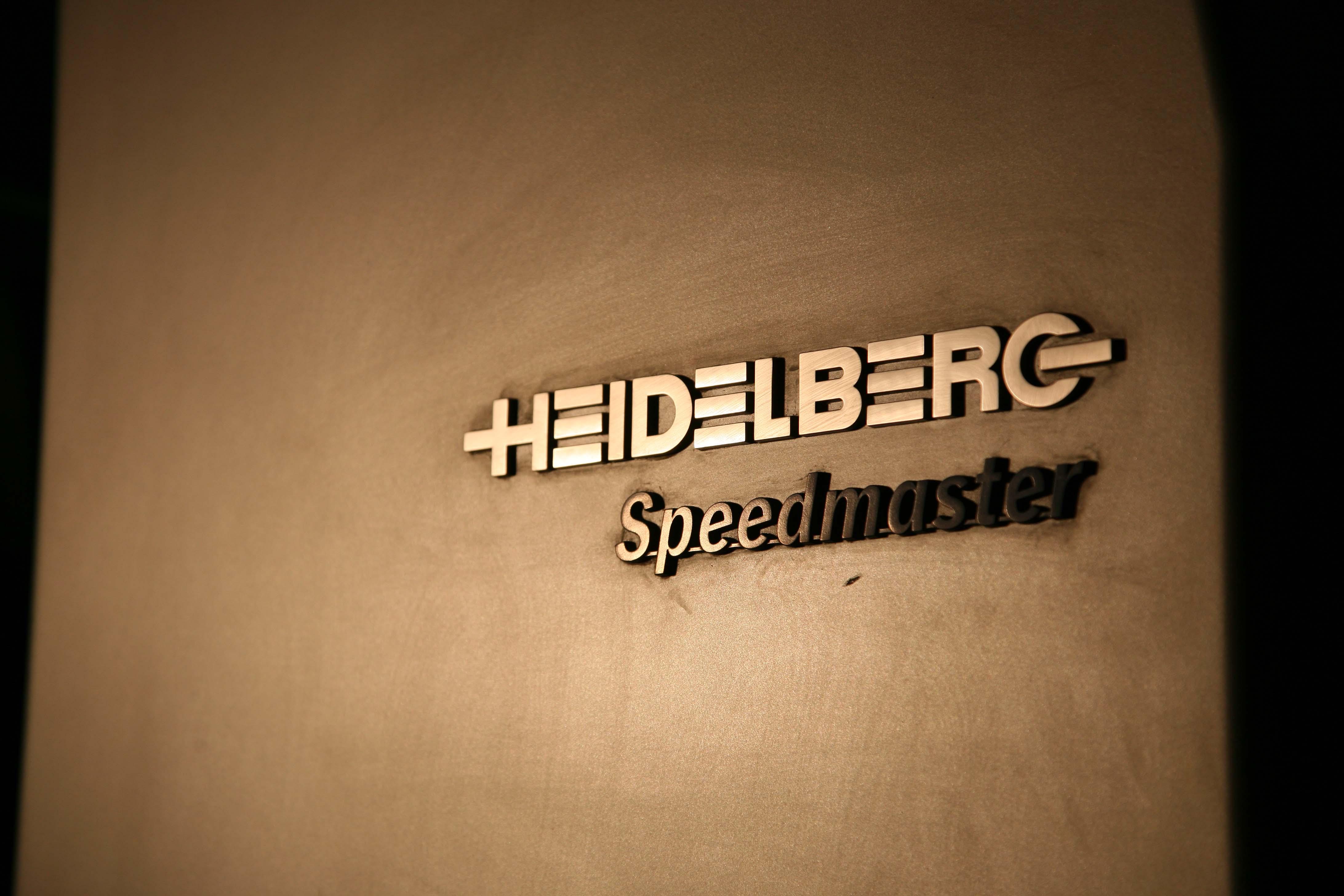 Offset a colori singolo di heidelberg
